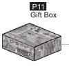11- 6400P11 Gift Box