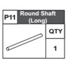 11-68300P11 Round Shaft (Long)
