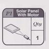 01-67900P1 Solar Panel With Motor