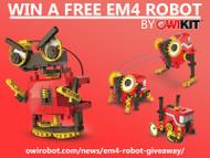 EM4 Robot Giveaway