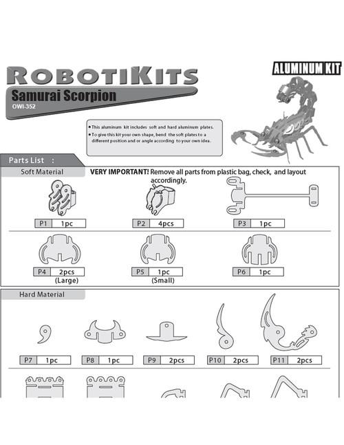 Samurai Scorpion Manual