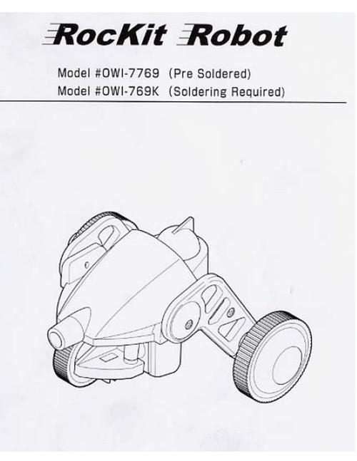 Rockit Robot Manual