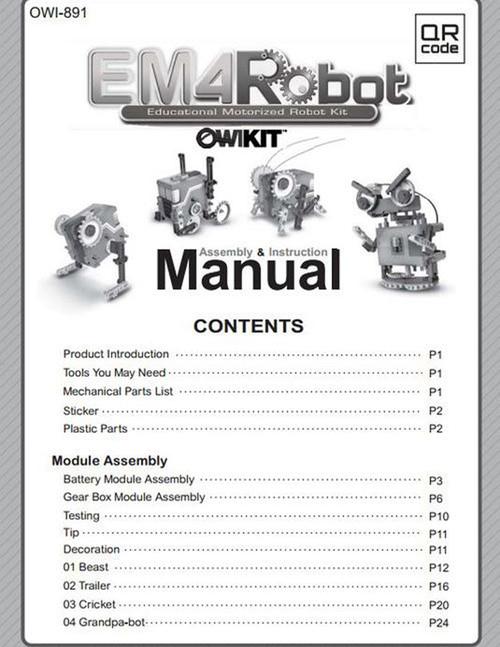 EM4 Robot Manual