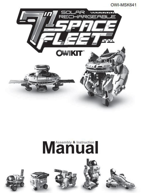 Solar Space Fleet Manual