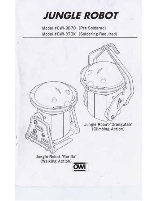 Jungle Robot Manual