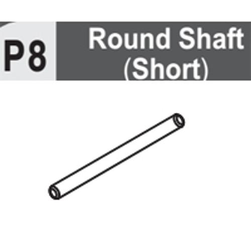 08-6130P8 ROUND SHAFT (SHORT)