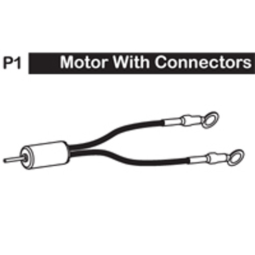 01-6150P1 MOTOR WITH CONNECTORS