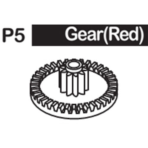 05-6150P5 GEAR (RED)