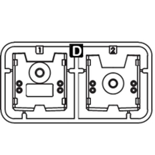 14-6150PPD Plastic Part D