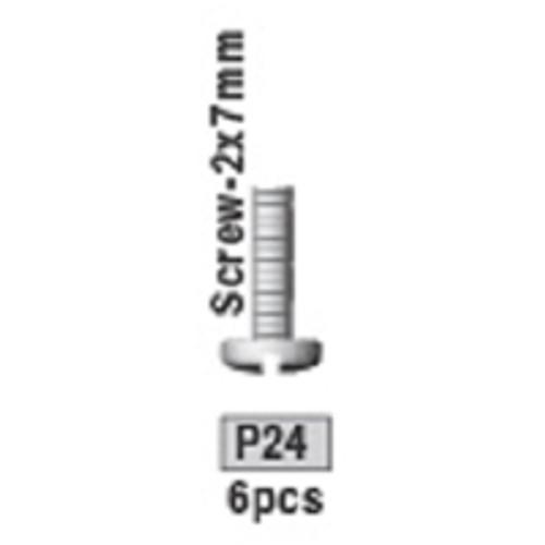 24-3730P24 P24 Screw-2x7mm