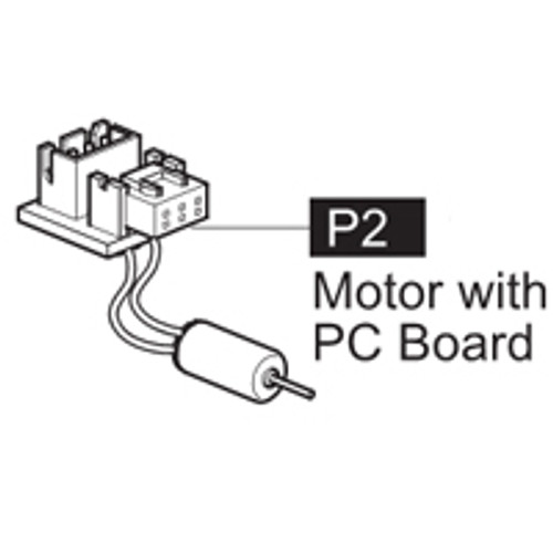 02-6400P2 MOTOR WITH PC BOARD