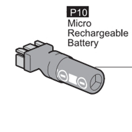 10-6400P10 MICRO-RECHARGEABLE BATTERY