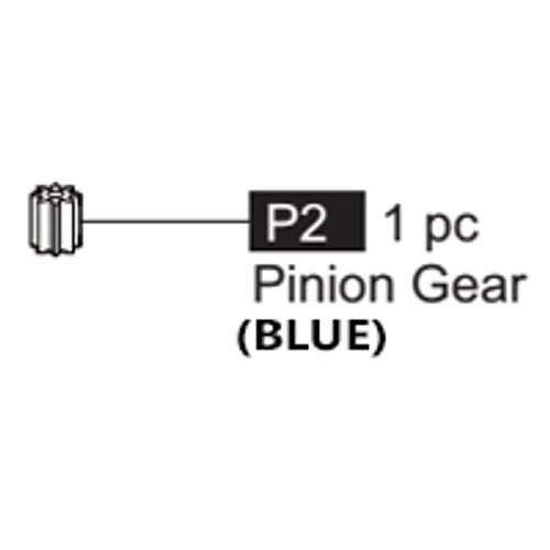 02-64100P2  Pinion Gear (Blue)