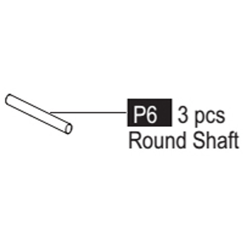06- 64100P6 Round Shaft (short)
