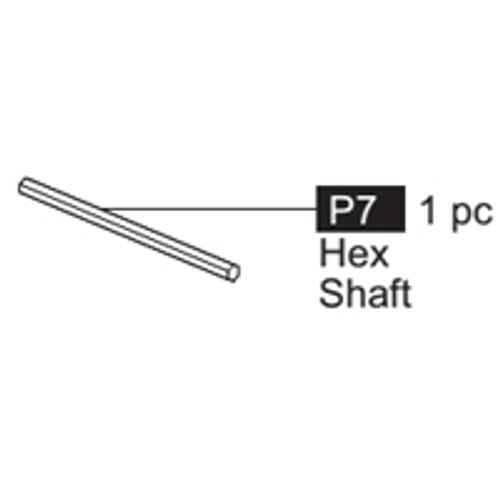 07-64100P7 Hex Shaft