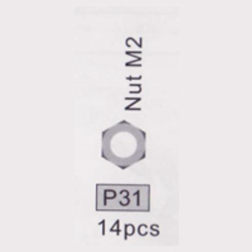 31-3710P31 P31 Nut M2