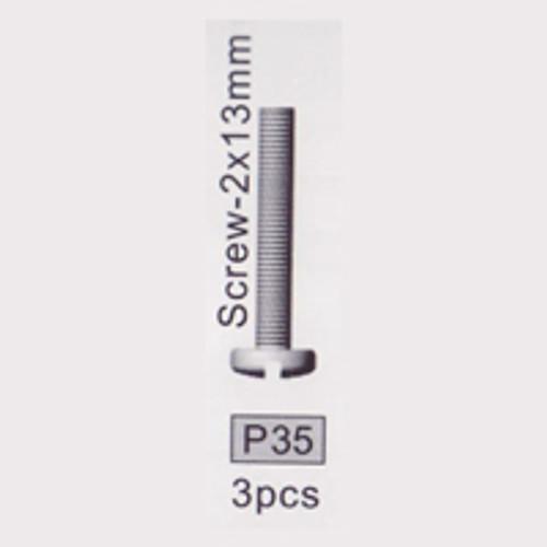 35-3710P35 P35 Screw- 2x13mm
