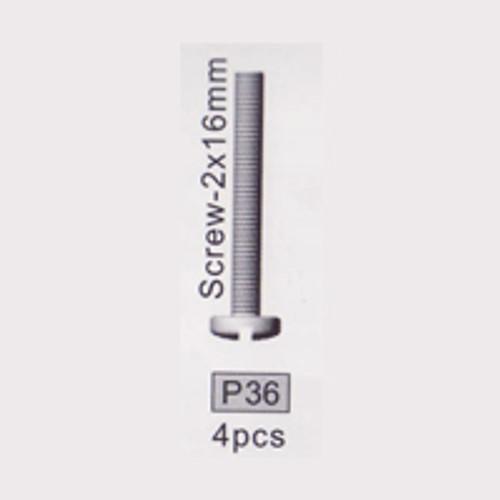 36-3710P36 P36 Screw- 2x16mm