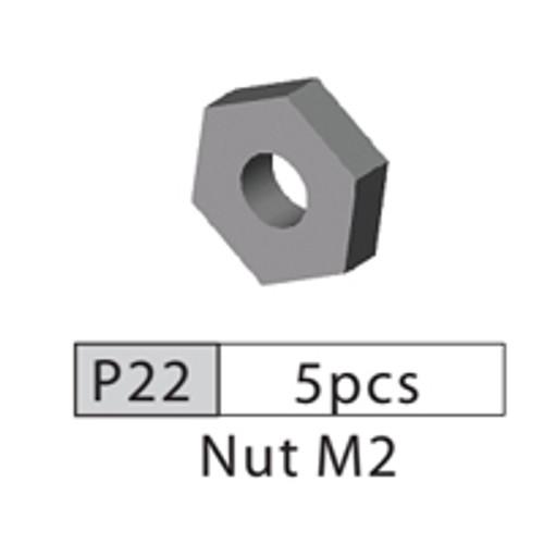22-3520P22 P22 Nut M2