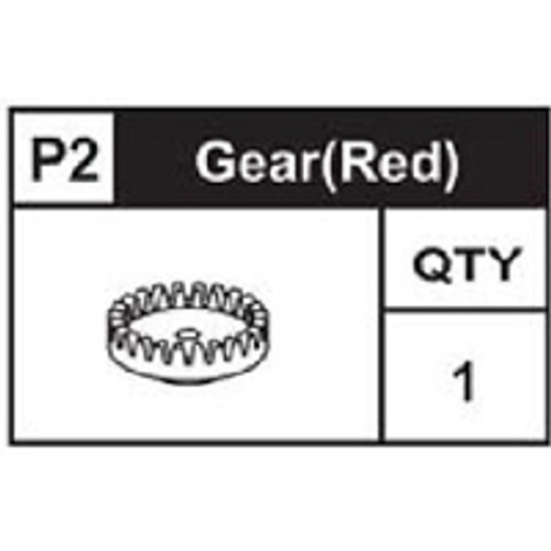 02-89200P2  Gear (Red)