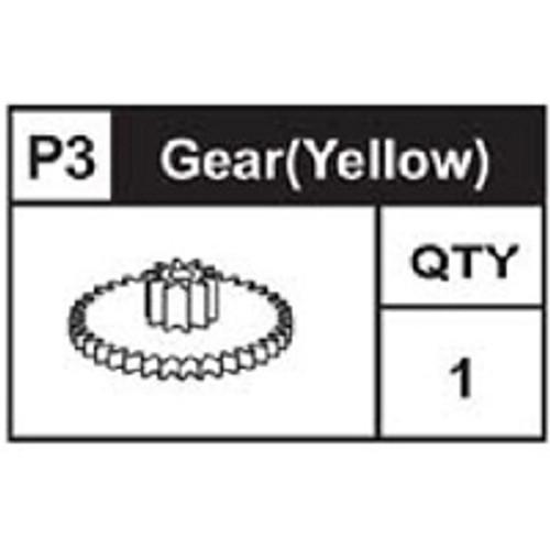03-89200P3  Gear (Yellow)