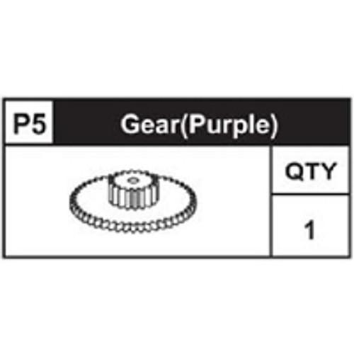 05-89200P5  Gear (Purple)
