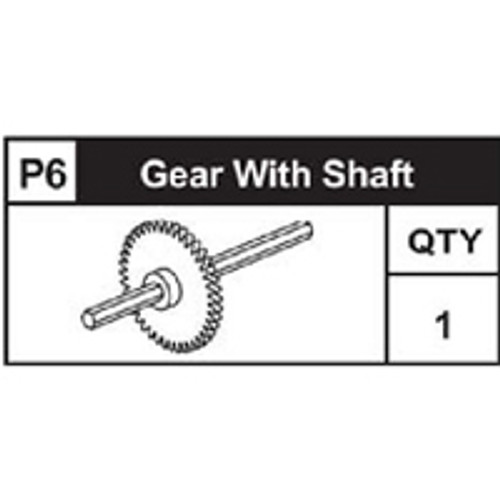06-89200P6  Gear With Shaft