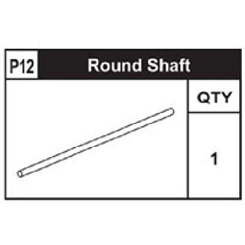 12-89200P12 Round Shaft (Long)