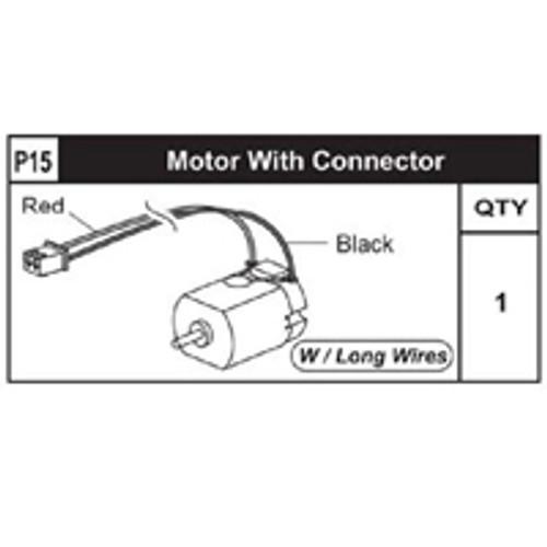 15-89200P15 Motor W/ Connector (Long)