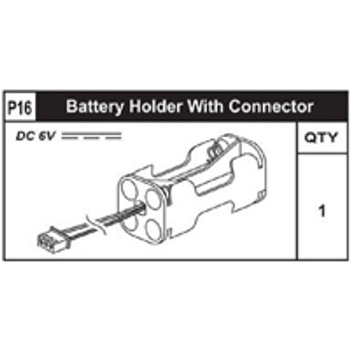 16-89200P16 Battery Holder W/ Connector