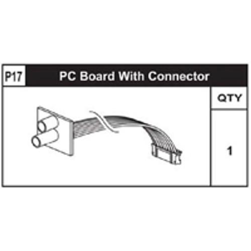 17-89200P17 PC Board W/ Connector