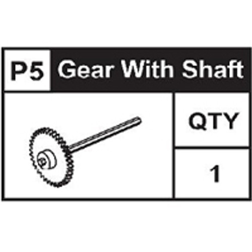 05-89100P5  Gear With Shaft