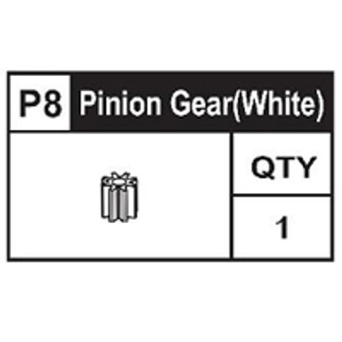 08-89100P8  Pinion Gear (White)