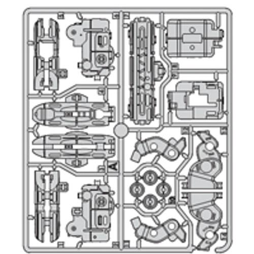 15- 64100PPA Plastic part A