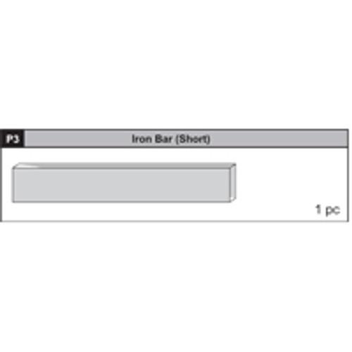 03-63200P3 Iron Bar (Short)