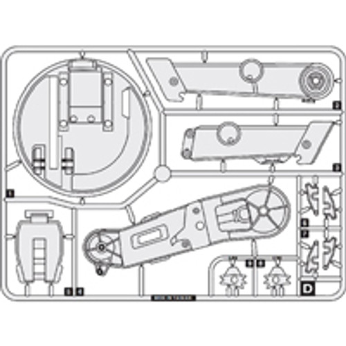 19-63200PPD  Plastic Part D