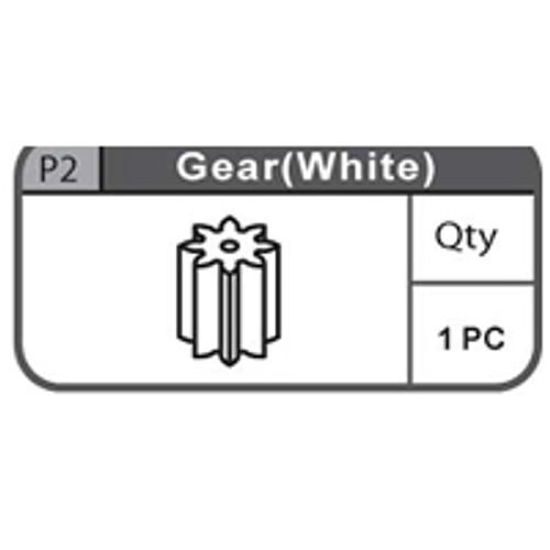 02- 66900P2  GEAR (WHITE)