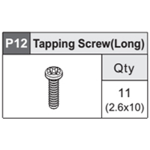 18-5360P12 Tapping Screw (Long)