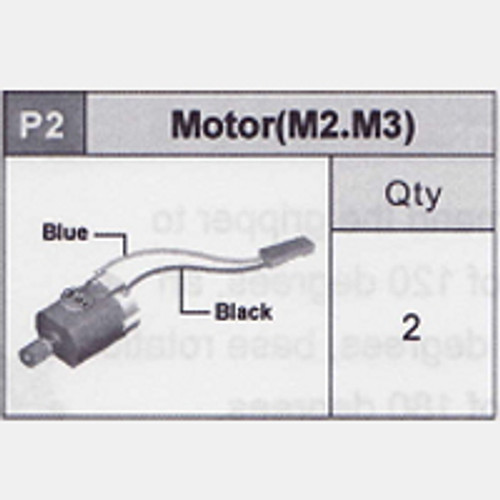 02-5350P2 Motor (M2.M3) (Blue/Black)