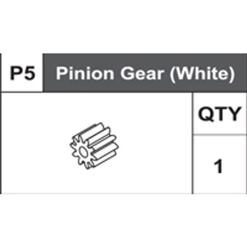 05-75400P5  Pinion Gear (White)