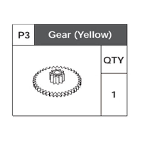 03-75200P3 Gear(Yellow)
