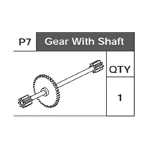 07-75200P7 Gear With Shaft With Pinions