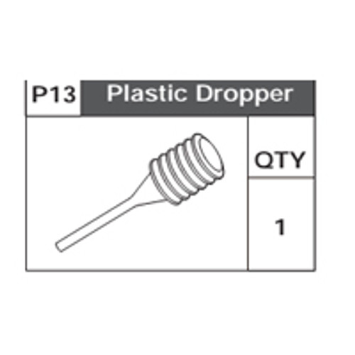 10-75200P13 Plastic Dropper