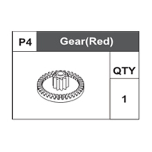 04-75100P4 Gear (Red)