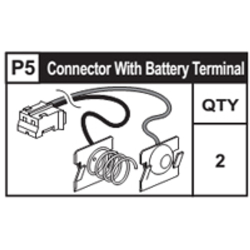 05-63300P5 Connector With Battery Terminal