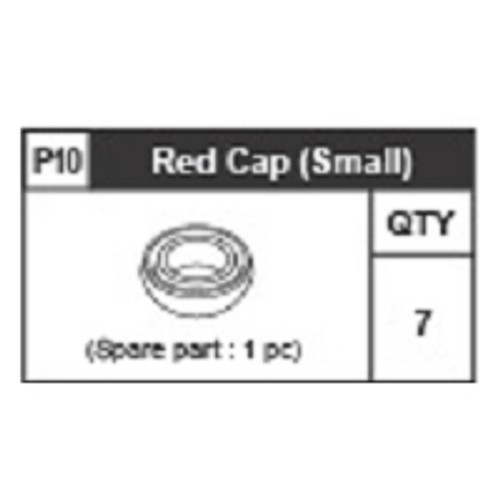 10-6310P10 Red Ring (Small)
