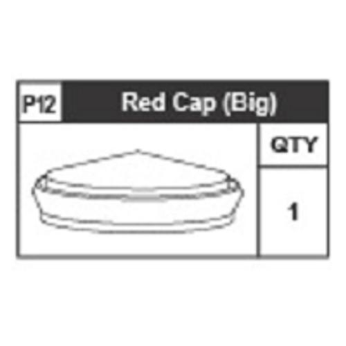 12-6310P12 Red Cap (Big)