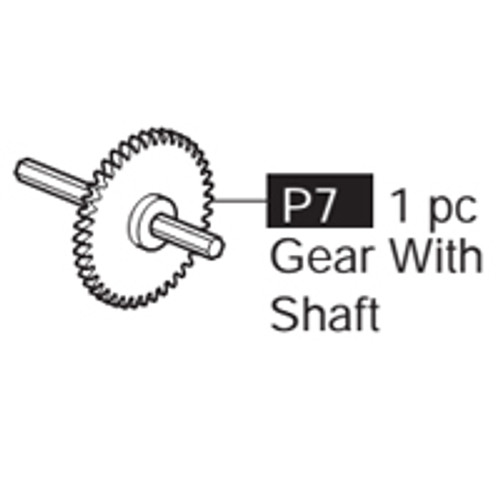 07-69100P7  Gear With Shaft