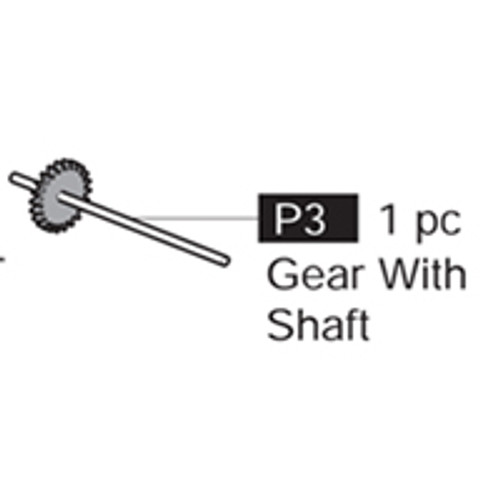 03-69000P3 Gear With Shaft