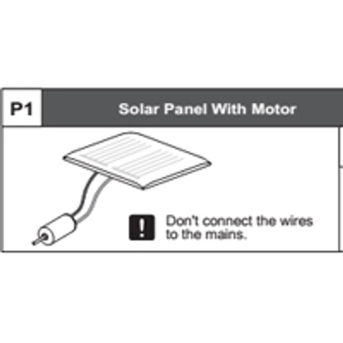 01-68400P1 Solar Panel With Motor